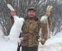 Охота на зайца (пять дней, семь трофеев).