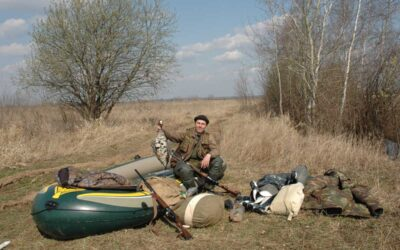 Как я начинал охотиться на гуся.
