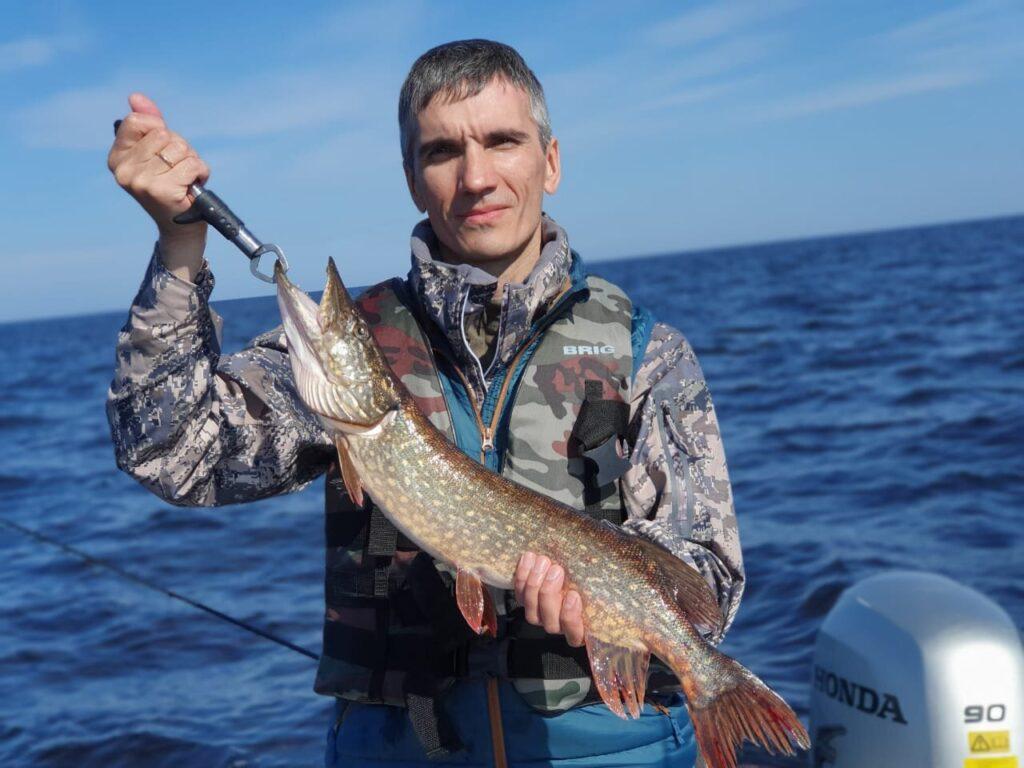 Снова на рыбалку...