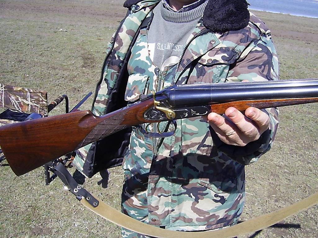 Охота на гуся, в южном регионе...